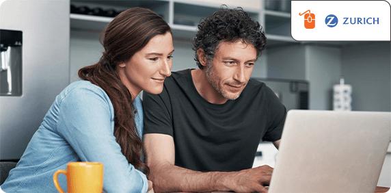Risikolebensversicherung der Zurich online abschließen