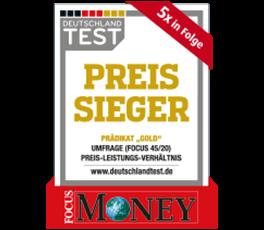 Siegel: Preissieger norisbank
