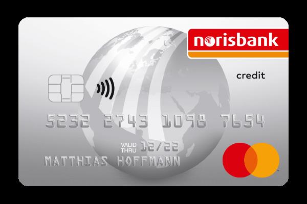 norisbank App –  Debit- und Kreditkarte