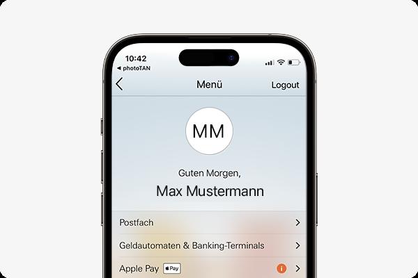 Apple Pay aktivieren - Vorgang in App starten