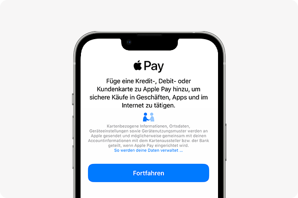 Apple Pay Aktivieren