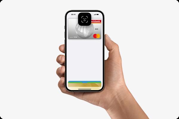 mit Apple Pay bezahlen - iPhone (Face ID)