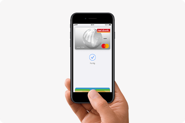 mit Apple Pay bezahlen - iPhone (Touch ID)