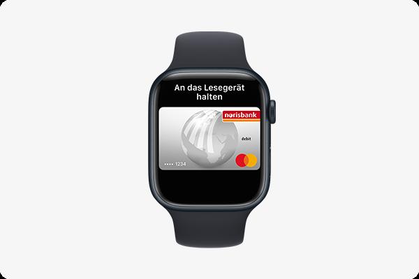 mit Apple Pay bezahlen -  Apple Watch