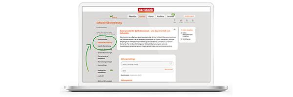 Digitale Services - Sepa-Echtzeitüberweisung