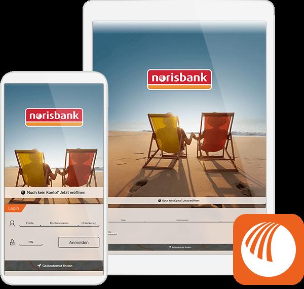 norisbank app Abbildung