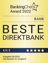 Siegel Banking Check - Beste Direktbank