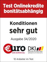 """Siegel Euro """"Onlinekredite bonitätsabhängig sehr gut"""""""