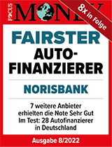"Siegel Focus Money ""Fairster Autofinanzierer"