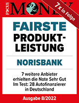 "Siegel Focus Money ""Fairste Produktleistung"""