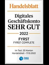 Handelsblatt Digitales Geschäftskonto: Sehr Gut'