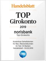 Siegel Handelsblatt: Top Girokonto