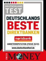 Siegel FocusMoney - Deutschlands Beste Direktbanken