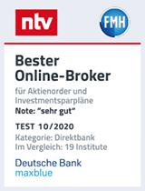 ntv Siegel: Bester Online-Broker