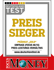 Focus Money Deutschlandtest Preissieger