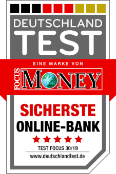 Fokus Money Sicherste Online-Bank 2018
